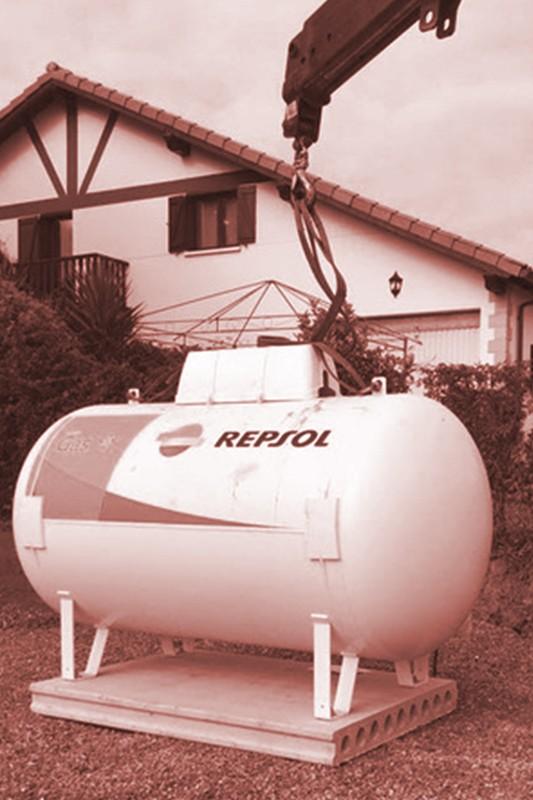 Deposito de gas Aercan