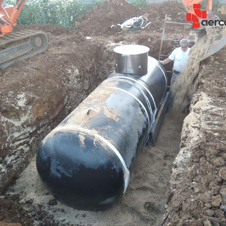 Instalacion de depósitos de gas en Cantabria